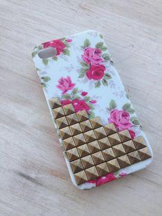 $14.99 floral studded case
