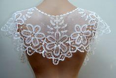 Antique Battenberg Priness Lace Collar Tape Bobbin Net Handmade Vintage Wedding | eBay