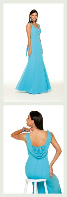 Beautiful Blue! Special Day #bridesmaid dress, style #13154 ~ The Moderne Bridal, Cork