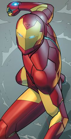 I don't even like Iron Man but I love the illustration... Looks so real