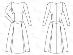 free pattern dress