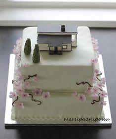 Marsispossu: Galleria Cake Designs, Baked Goods, Baking, Desserts, Decorating Cakes, Floral, Gift, Tailgate Desserts, Deserts