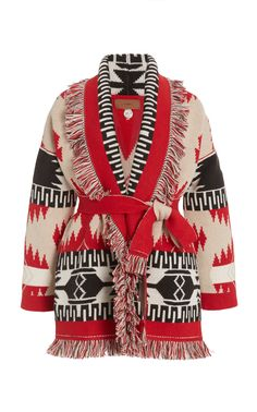 Icon Fringed Cashmere-Wool Cardigan by ALANUI Now Available on Moda Operandi