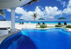 Luxushotel in der mexikanischen Karibik in Cancum › Immobilien Meerblick
