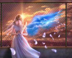 "Photo from album ""Такаки / Takaki"" on Yandex. Alone Art, Fable, Visionary Art, Pretty Wallpapers, Japanese Artists, Fantasy Artwork, Conte, Fantasy World, Anime Art Girl"
