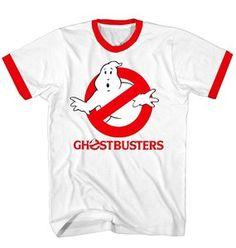 Ghostbusters Original Logo White T-shirt