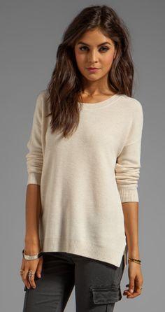Cozy knit sweater
