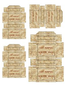 Boxes (Asian Lettering)