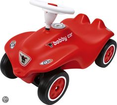 BIG Bobby Car Next Generation - Loopauto - Rood