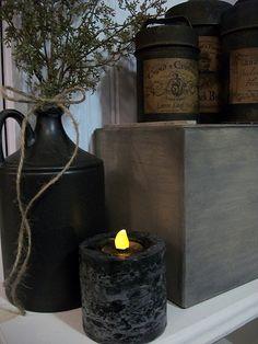 No Drill~ Primitive Candle tut