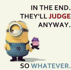 Funny Minion quotes gallery (07:37:33 AM, Saturday 20, June 2015 PDT) – 10 pics #funny #lol #humor #minions #minion #minionquotes #minionsquotes #despicableMe #quotes #quote #minioncaptions #jokes #funnypics