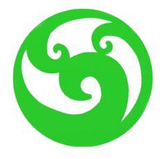 The Maori Koru Symbol Koru Tattoo, Symbol Tattoos, Tatoos, Maori Symbols, Family Symbol, Maori Designs, Nz Art, Maori Art, Kiwiana
