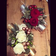 Floral Christmas crackers