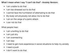 """""""I can't do that"""" - Anxiety Version"""