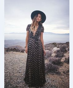 Fashion Dress Designs Maxi Dress Boho Casual Print Long Dress for Women Look Boho, Look Chic, Ethno Style, Gypsy Style, Hippie Style, Estilo Hippie, Hippie Chic, Hippie Hats, Hippie Gypsy