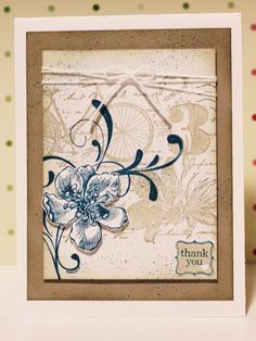 Thank Card It's Friday - Postage Due