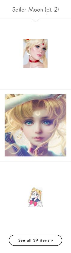 """Sailor Moon (pt. 2)"" by bambolinadicarta-1 ❤ liked on Polyvore featuring sailormoon, UsagiTsukino, princessserenity, PrettyGuardiansSailorMoon, SailorWarriors, sailor moon, anime, backgrounds, pic and pictures"