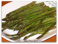 Outback Steakhouse Asparagus - What can be quicker than this healthy and easy recipe?  10 minutes will be on your table.  New year resolution starts from here.