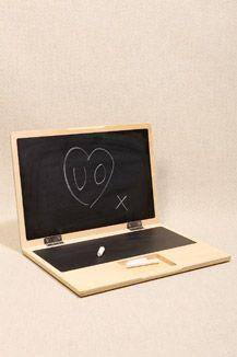 iWood Chalkboard Laptop