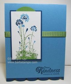 SU! Serene Silhouettes stamp set - Barb Mullikin