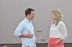 The Small Things Blog - Cute Baby Announcement