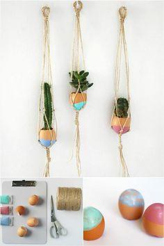 25 DIY Plant Hangers with Full Tutorials - DIY & Crafts