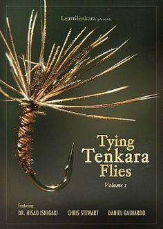 Tenkara flies are so minimalist, just like Tenkara fly fishing is.