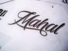 Handlettered Logotypes by Mateusz Witczak, via Behance