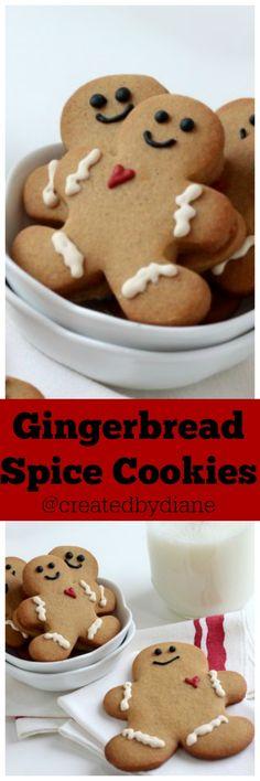 Gingerbread Spice Cookies @createdbydiane