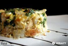 Csirkés karfiolsült | NOSALTY Keto Recipes, Cooking Recipes, Lasagna, Quiche, Macaroni And Cheese, Recipies, Easy Meals, Food And Drink, Vegetarian