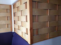 Picnic basket wall treatment.  Santa Cruz, CA.