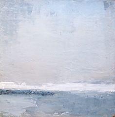 """""""Vision in Fog"""" 12"""" x 12"""", acrylic on canvas. ©2015 Cara Gonier"""