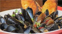 mussels dijon | FOODS I LIKE TO EAT | Pinterest | Mussels