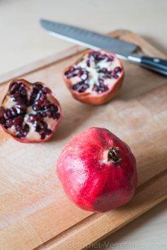 Grenade Fruit, Apple, Vegan, Gourmet, Healthy Eating Recipes, Vegetarische Rezepte, Food, Kitchens, Sweet Treats