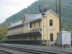 Thurmond WV Train Depot...there are some great rail-to-trail areas.