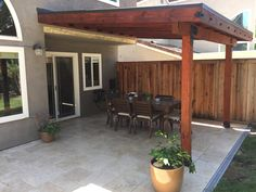 #OWTstanding attached patio structure by Alex in California! Visit our website for help with building you own #OWTstanding project!