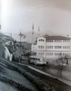 Dolmabahçe Tütün deposu (1950'li yıllar).