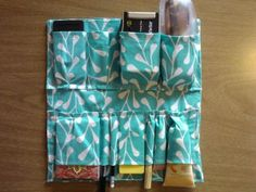 diy purse organizer from a cereal box