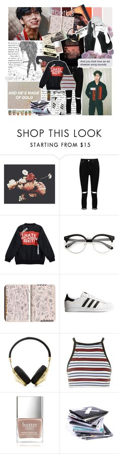 """Welcome to a fairytale where sinners come to sin. // Set #337"" by sammisolace ❤ liked on Polyvore featuring Ashley Woodson Bailey, Boohoo, Chicnova Fashion, adidas Originals, Frends, Motel, Butter London, BOTB3, monstax and monbebes"