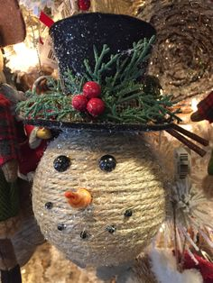 Love this Snowman  Christmas ornament.
