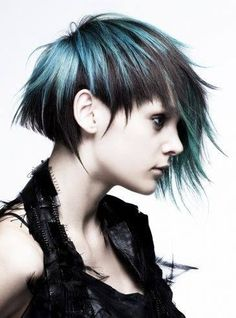 How cool is this... Hair by Tadashi Harada for Shiseido. #HotOnBeauty www.fb.com/hotbeautymagazine