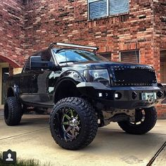 Ford F-Series Build by Custom Lifted Trucks, Lifted Ford Trucks, Pickup Trucks, F150 Truck, Jeep Truck, Cool Trucks, Big Trucks, Custom F150, Ford F Series