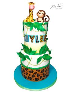 Call or email to order your celebration cake today. Safari Baby Shower Cake, Baby Shower Cakes, Cakes Today, Cupcake Wars, Safari Theme, Safari Animals, Custom Cakes, Food Network Recipes