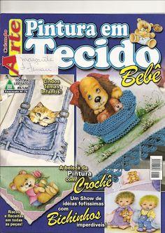 CRIANDO ARTE PINTURA EM TECIDO Nº 76 - ADRIANA MOURA - Picasa Web Albums...