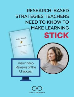 If you want to help students become capable, independent learners, this book is a great addition to your library.   Cult of Pedagogy