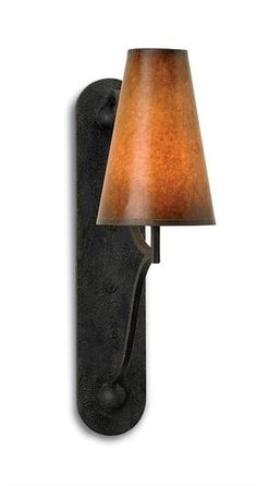 Wall Sconce CURREY & COMPANY LITCHFIELD Rustic 1-Light Antique Glazed CC-998