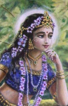 Sri Radha, the Queen of Vraja