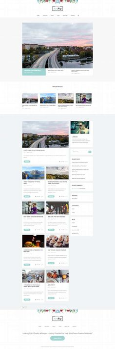 Palmas Blogging WordPress Theme