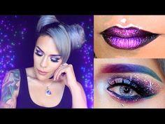 Galaxy Makeup Tutorial | LoLo Love - YouTube