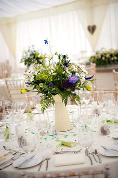 Wild flowers for a natural/ country garden feel
